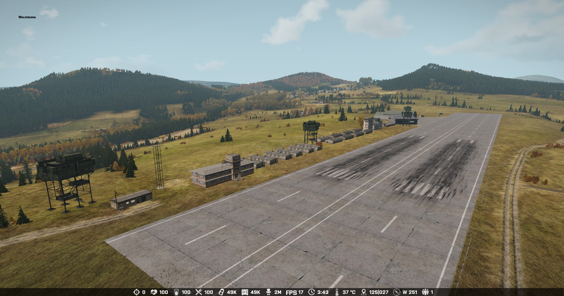 Airfield Nord Ost