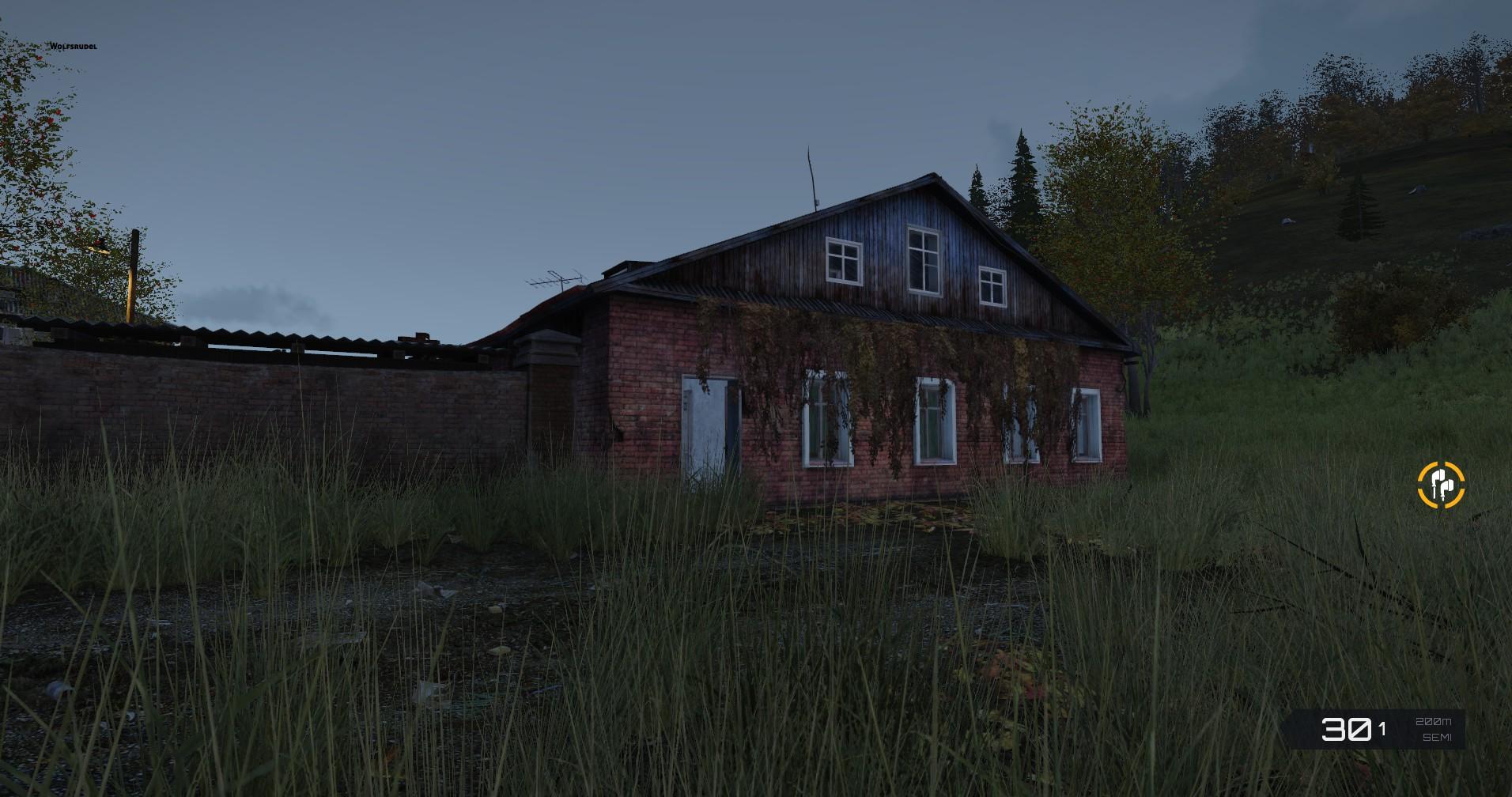 Haus Apokalyptisch