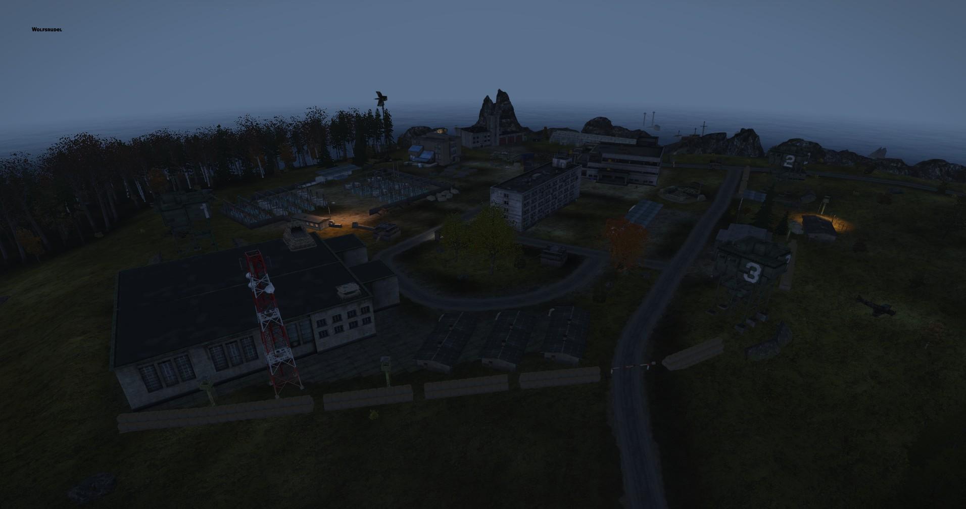 Area 51 bei Nacht